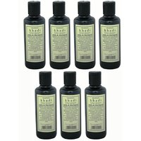 Hair Shampoo - Herbal - Amla & Bhringraj Shampoo - Combo Pack Of 7 - By Khadi