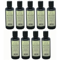 Hair Shampoo - Herbal - Amla & Bhringraj Shampoo - Combo Pack Of 9 - By Khadi