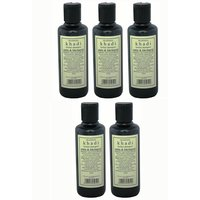Hair Shampoo - Herbal - Amla & Bhringraj Shampoo - Combo Pack Of 5 - By Khadi