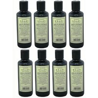 Hair Shampoo - Herbal - Amla & Bhringraj Shampoo - Combo Pack Of 8 - By Khadi