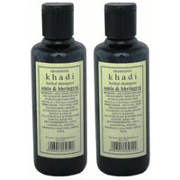 Hair Shampoo - Herbal - Amla & Bhringraj Shampoo - Combo Pack Of 2 - By Khadi