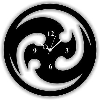 Panache Beautiful Bogo Clock 9942