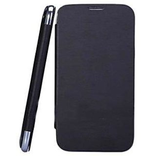 Karbonn Titanium S5 Mobile Flip Cover  Black  available at ShopClues for Rs.398
