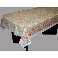 PVC Table Cover Fabricraze 6 Seater (SPIFAB046090(O))