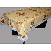 PVC Table Cover Fabricraze 4 Seater (SPIFAB054860)