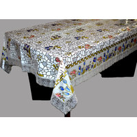 PVC Table Cover Glossy 6 Seater (SPIGLOS036090(O))