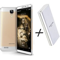 COMBO Of ADCOM ANOTE GOLD WITH POWER BANK 20000mAh