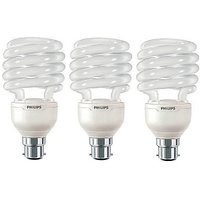 Philips Tornado B22 23 W Cfl Bulb (Pack Of 3)