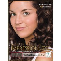 Impression Chestnut Brown Henna Based Hair Colour (60g)
