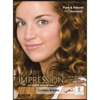 Impression Golden Brown Henna Based Hair Colour (60g)