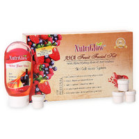 Nutriglow AHA Fruit Facial Kit With Free NutriGlow Face Wash