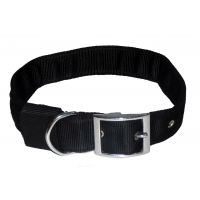 Petshop7 Stylish Dog Collar And Leash Set - Black 1.5 Inch- Xtra Large