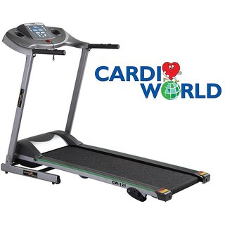 Cardioworld Imported Motorised Treadmill With 12 Programes available at ShopClues for Rs.22990