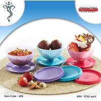 Signoraware Dessert Server | Ice-cream Bowls - Set Of 6