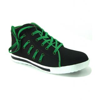 Mens Polo Race Side Lace Long Canvas Shoe - 78377058