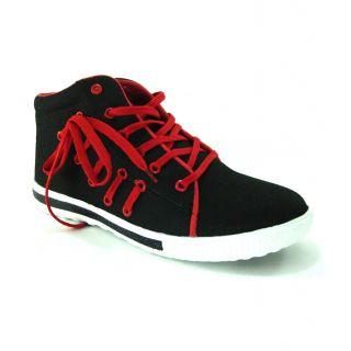 Mens Polo Race Side Lace Long Canvas Shoe