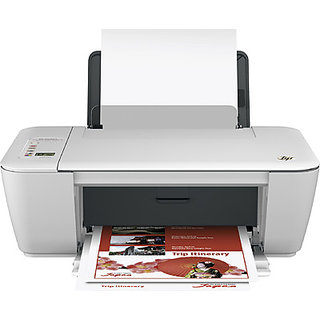 HP Deskjet Ink Advantage 2545 All-in-One Wireless Printer (White)