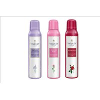 YARDLEY WOMENS DEODORANTS - PACK OF 3 (ENGLISH LAVENDER, ENGLISH ROSE, RED ROSE)