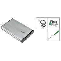 """Aluminum External Casing For Laptop IDE HDD 2.5"""""""