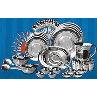 Bindal Gold 51 Pcs Stainless Steel Dinner Sets