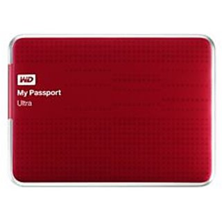 WD My Passport Ultra (WDBGPU0010BBY) 1 TB External Hard Drive (Berry)