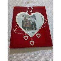 Embellished Red Photo Frame - Frame Stylish