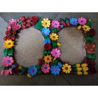 Handmade Beautiful Photo Frame Multicolor