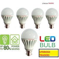 LED BULB 5 PCS 5W