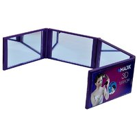 Majik 3-D Mirror, 360 Degree Mirror, Used For Make-Up, Hair Styling.