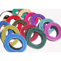 Pack Of 24 Pieces Elastic Hair Band For Girls And Women - Assorted Colours