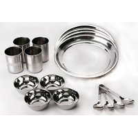 WM 16 Pcs Stainless Steel Dinner Set