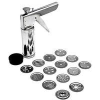 Stainless Steel Kitchen Press Grater With 15 Jalies