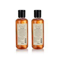 Khadi Natural Herbal Henna Tulsi Shampoo - 210ml (Set Of 2)