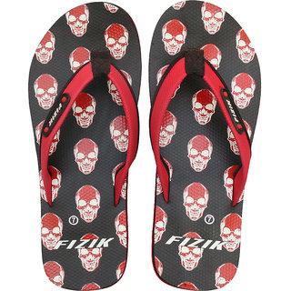 FIZIK Men's Flip Flop Black-Red (Speed-5)