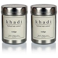 Khadi Natural Herbal Indigo - 150g (Set Of 2)