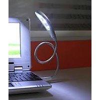 USB Powered 3 LED Flexible Wire Light For Laptop Desktop PC Netbook Reading