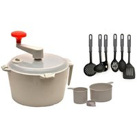 Combo Of Dough Maker & Atta Maker Mixer 1 Pcs With Kitchen Tool Set Of 6 Pc.
