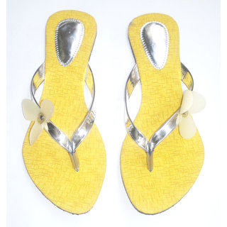 Flat  Strip Slippers Combo Plus  Three Peice And Three Colour  Three Desine - 79643200