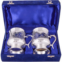 GS Museum Silver Plated 2 Beer Mug
