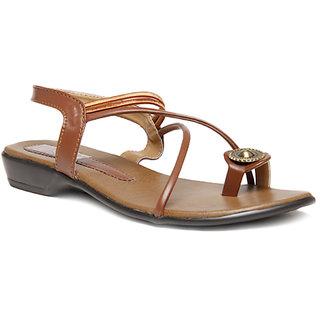 Select Women's  Brown Sandal