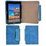 Novel 7 Inch Denim Print, Tablet Case Cover For HCL ME Connect 2G Tab V1 (4GB)