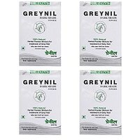 Dr. JainÂ's Greynil Dark Shade Herbal Hair Colour Treatment - 100g (Set Of 4)