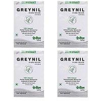 Dr. JainÂ's Greynil Dark Shade Herbal Hair Colour Treatment - 100g (Set Of 4)