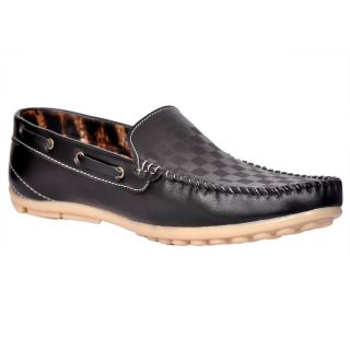 Klinga Black-533 Men's Canvas Shoes