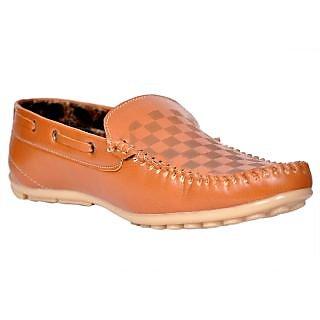 Klinga Tan-533 Men's Canvas Shoes