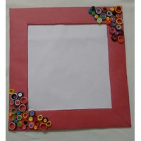 Handmade Designer Photo Frame with quilling work