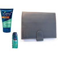 Fiama Di Wills Men Combo ( Shower Gel And Face Wash ) With Men Wallet Free