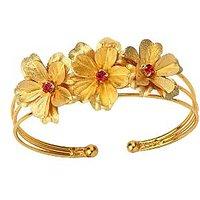 Guddus 24 Karat Gold Foil Bracelet Pink
