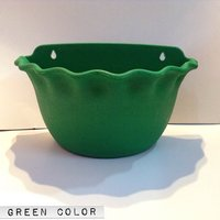 Platinum Pot Set Of Two Piece Wall Hanging Green Color With Self Watering - 80100866