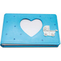 Treta Blue Cute Heart Photo Album
